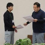 実践的な練習を行う職員(12月5日)